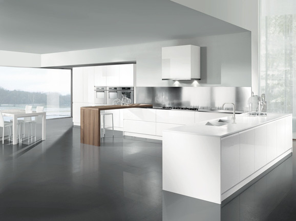 Arredissima catalogo cucine 2012 arredamento cucina - Cucine bianche lucide ...