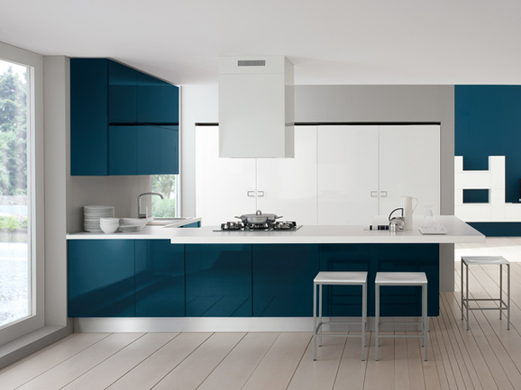 Awesome Cucina Moderna Piccola Images - Amazing House Design ...